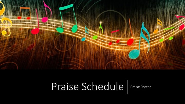 Click to access the praise roster